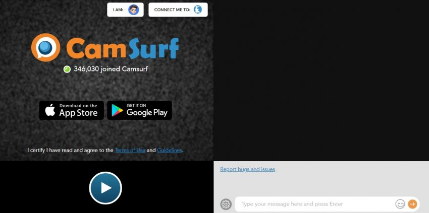 Camsurf home
